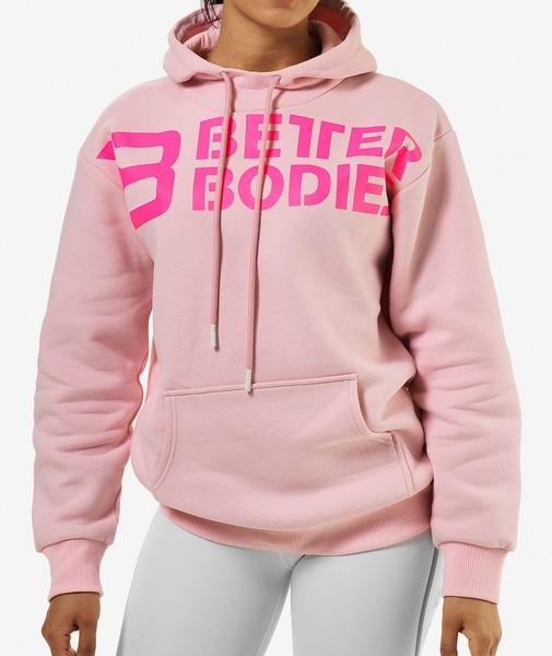 Better Bodies Chrystie Hoodie - Pale Pink