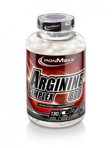 IronMaxx Arginin Simplex 800 - 130 Kapseln