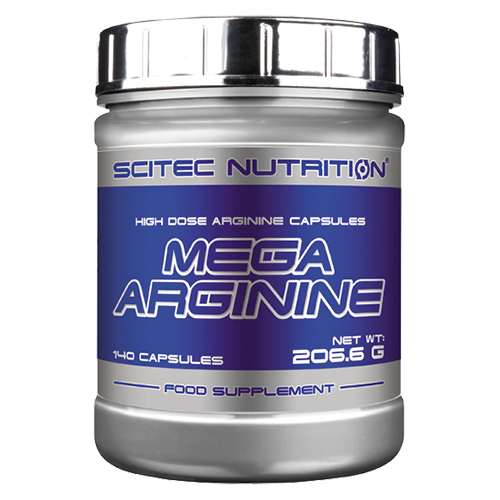 Scitec Nutrition Mega Arginine - 140 Kapseln