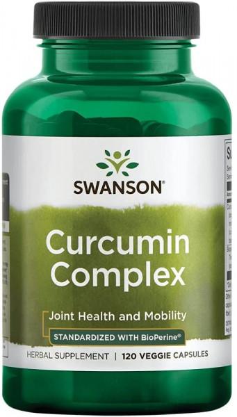 Swanson Curcumin Complex 700 mg - 120 Vegetarische Kapseln