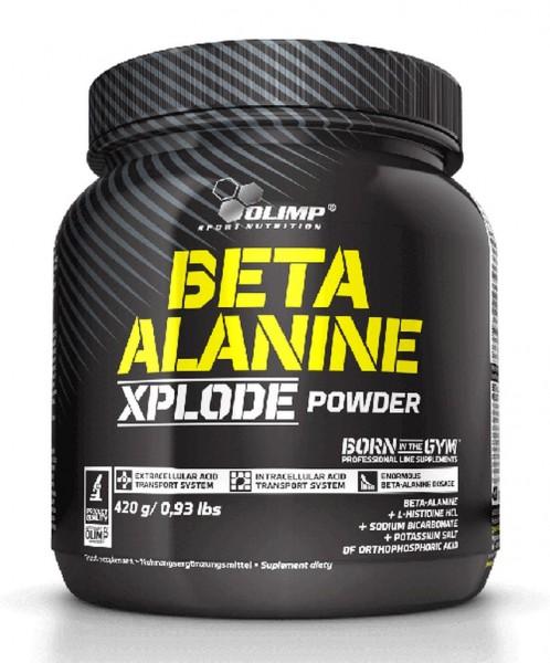 Olimp Beta Alanine XPLODE Powder - 420g, Orange