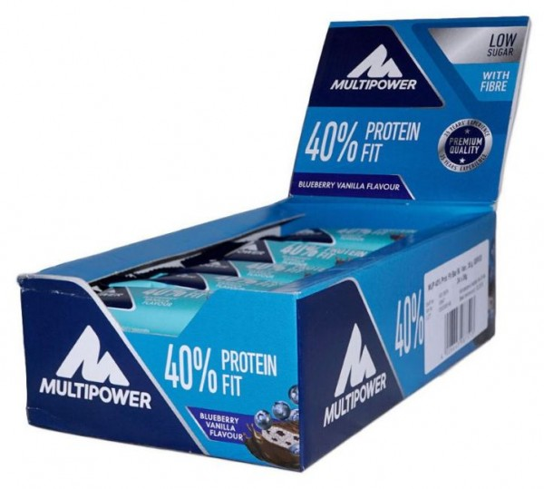 Multipower 40% Protein Fit - 24 Riegel a 35 g
