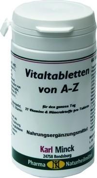Karl Minck Vitaltabletten von A - Z - 60 Tabletten