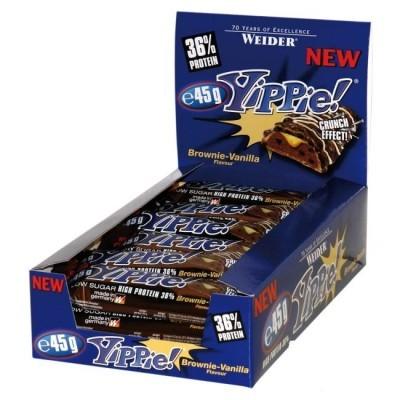 Weider Yippie! Protein Bar 45g - 18 Riegel