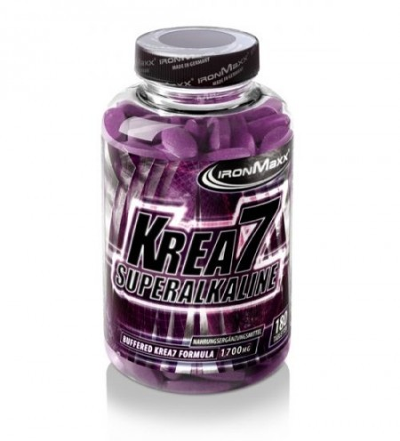 IronMaxx Krea7 Superalkaline - 180 Tabletten