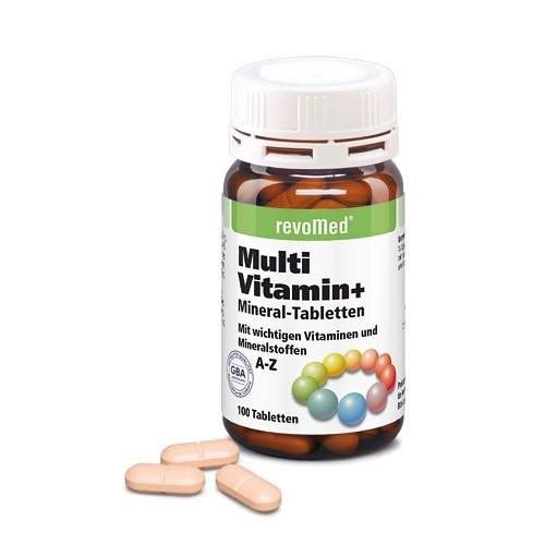 revoMed Multi Vitamin + Mineral-Tabletten - 100 Tabletten