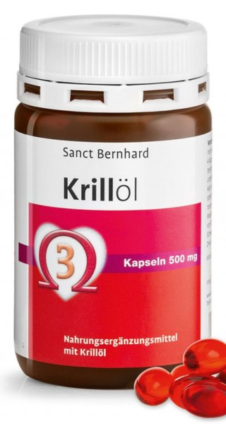 Sanct Bernhard Krillöl 500mg - 90 Kapseln
