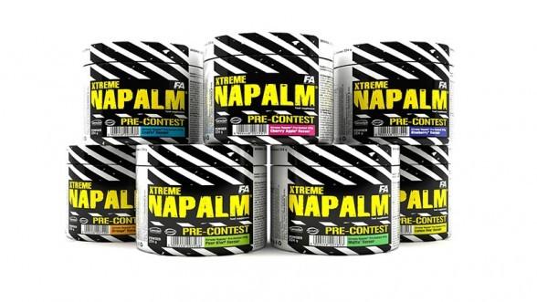 FA Nutrition Xtreme Napalm Pre Contest 224g