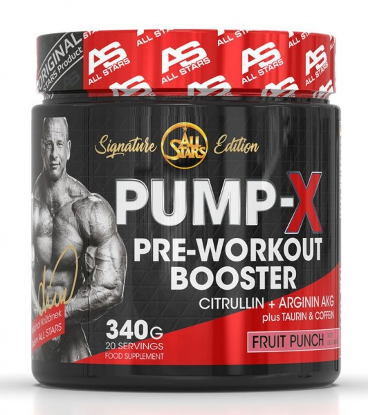 All Stars Pump-X Pre-Workout Booster - 340 g