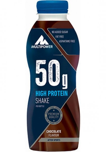 Multipower 50 g High Protein Shake 500 ml einzeln
