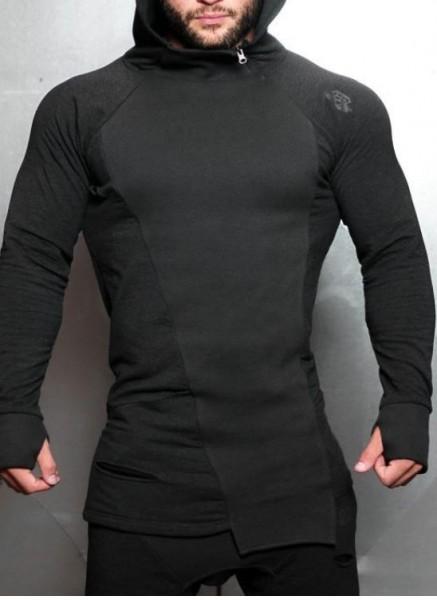 Body Engineers SVGE Fenrir Hoodie Dark Grey Melange