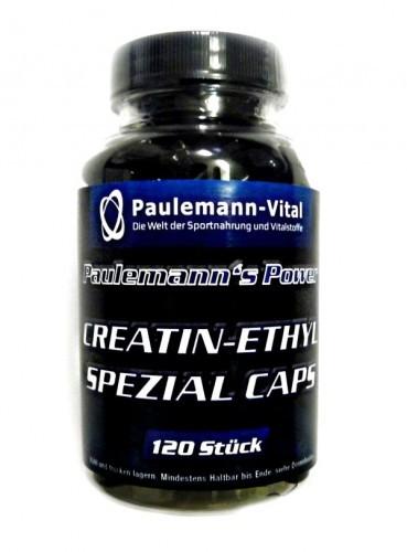 Paulemann-Vital Creatin-Ethyl Spezial Caps - 120 Kapseln