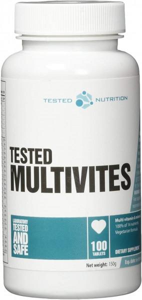 Tested Nutrition Tested Multivites - 100 Tablets