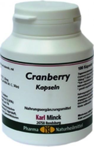 Karl Minck Cranberry Kapseln - 100 Kapseln
