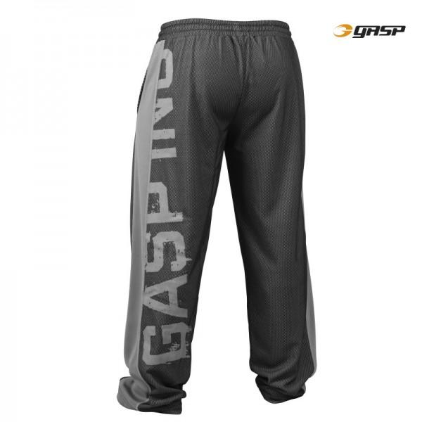 GASP No. 1 Mesh Pant - Black Grey