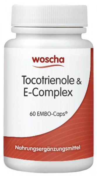 Woscha Tocotrienole & E-Complex - 60 Kapseln