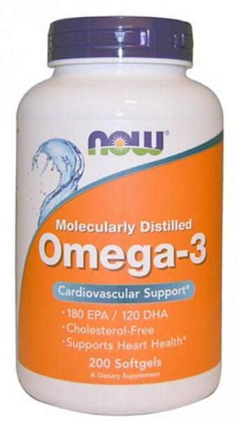 Now Foods Omega-3 200 Softgels