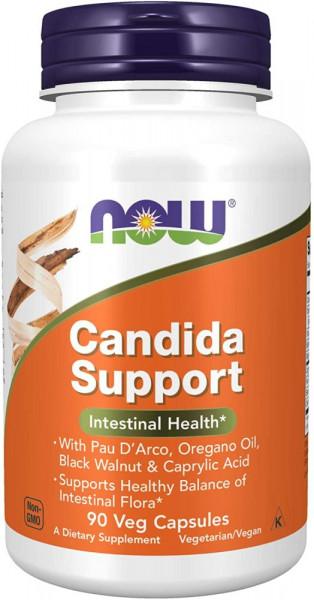 Now Foods Candida Support - 90 veg Kapseln