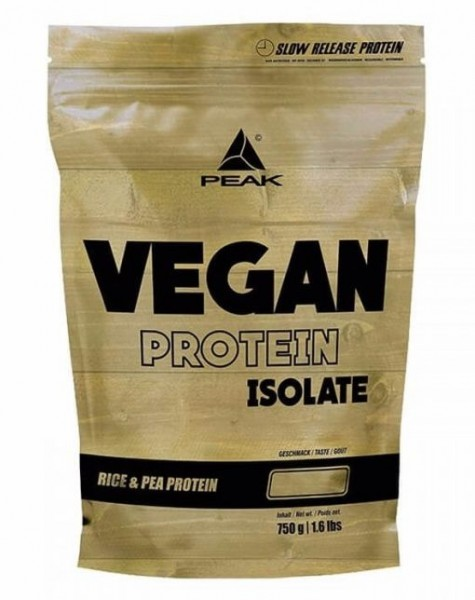 Peak Vegan Protein Isolate - 750 g
