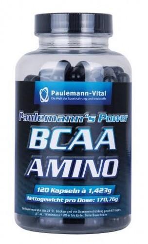 Paulemann-Vital BCAA Amino - 120 Kapseln