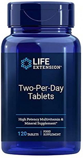 Life Extension Two-Per-Day- 120 Tabletten