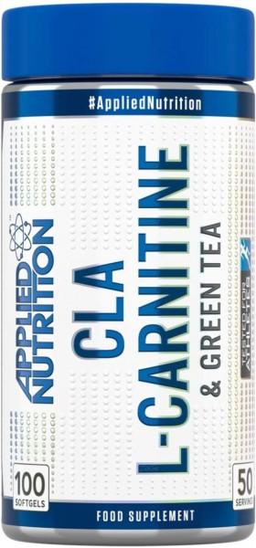 Applied Nutrition CLA L-Carnitin Grüntee - 100 softgels