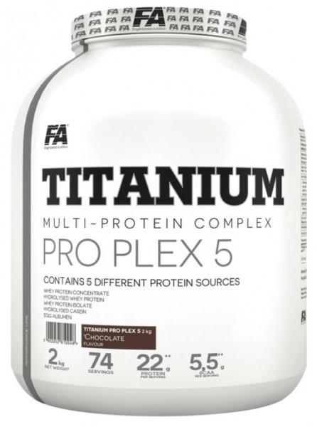 FA Titanium Pro Plex 5 - 2 Kg Dose