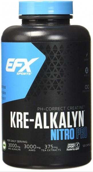 EFX Kre-Alkalyn Nitro Pro - 120 Kapseln