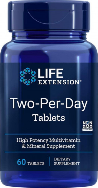 Life Extension Two- Per- Day- 60 Tabletten