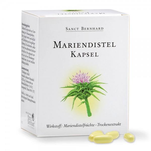 Sanct Bernhard Mariendistel - 90 Kapseln