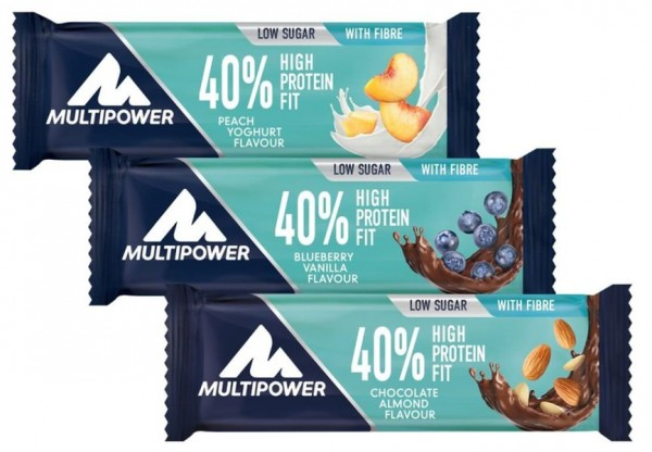 Multipower 40% Protein Fit - 1 Riegel a 35 g