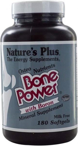 Natures Plus Bone Power with Boron - 180 Softgels