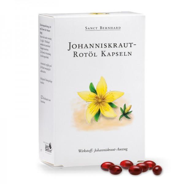 Sanct Bernhard Johanniskraut-Rotöl - 120 Kapseln