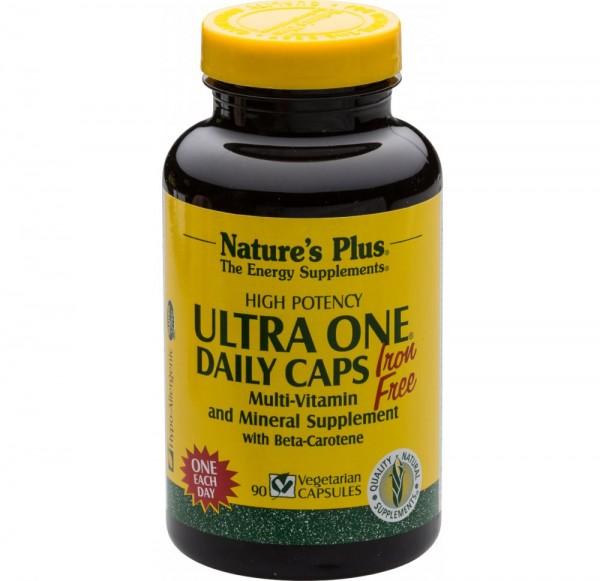 Natures Plus Ultra One Daily Caps Iron Free - 90 Kapseln