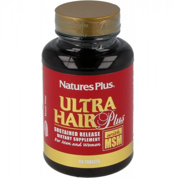 Natures Plus Ultra Hair Plus - 60 Tabletten