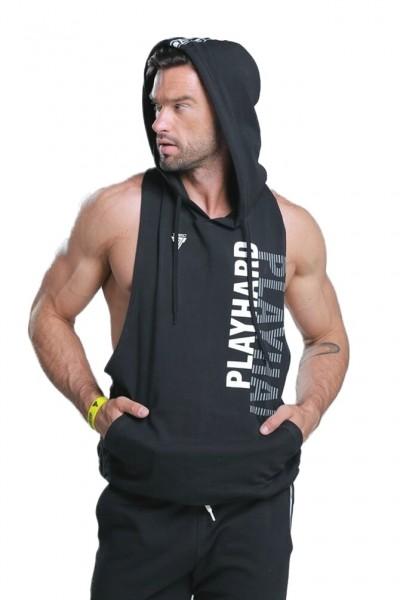 Trec Wear Boxer Hoodie 01 Stripe Black
