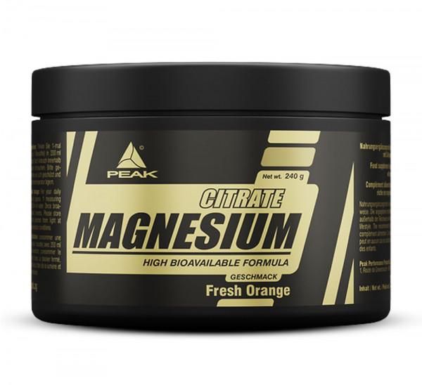 Peak Magnesium Citrat 240g