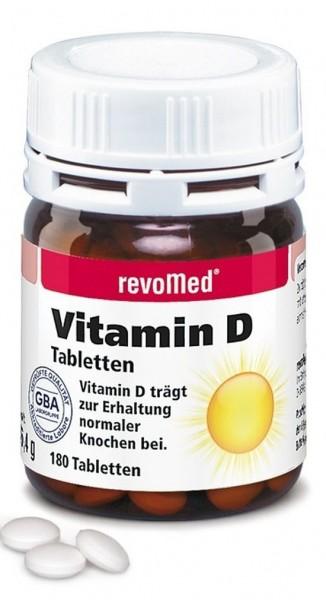 revoMed Vitamin D - 180 Kapseln