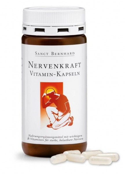 Sanct Bernhard Nervenkraft Vitamin- Kapseln 180 Kapseln