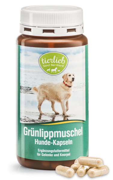 Sanct Bernhard Grünlippmuschel Hunde Kapseln- 170 Kapseln