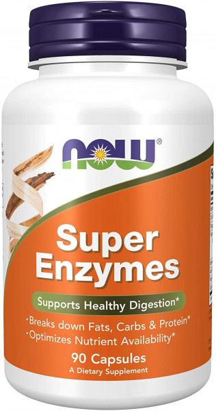 Now Foods- Super Enzymes- 90 Kapseln