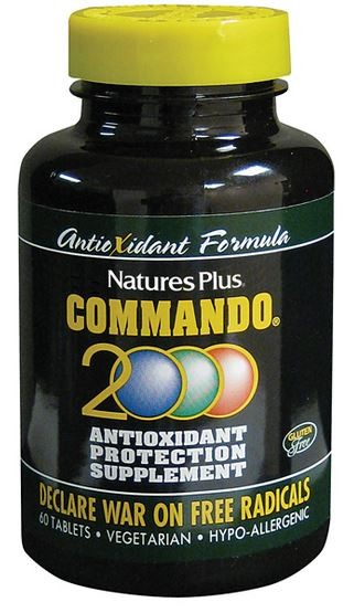 Natures Plus Commando 2000 60 Tabletten