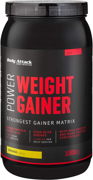 Body Attack Power Weight Gainer 1500g