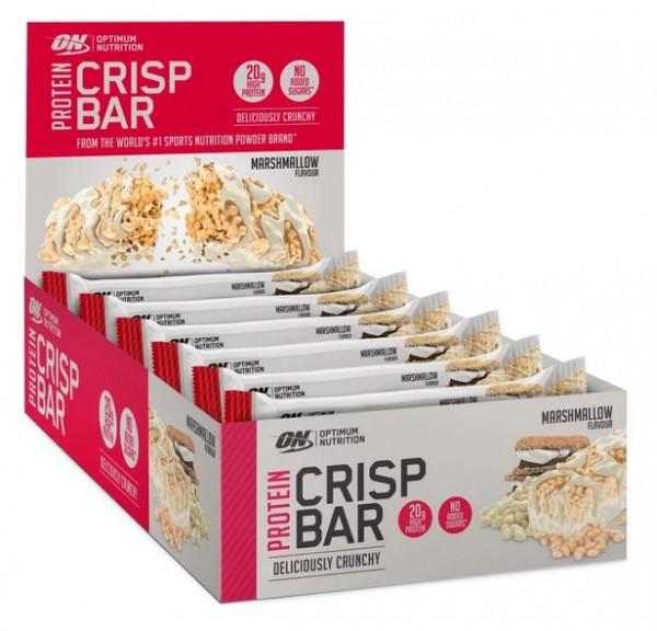 Optimum Nutrition Protein Crisp Bar - 10 x 65 g
