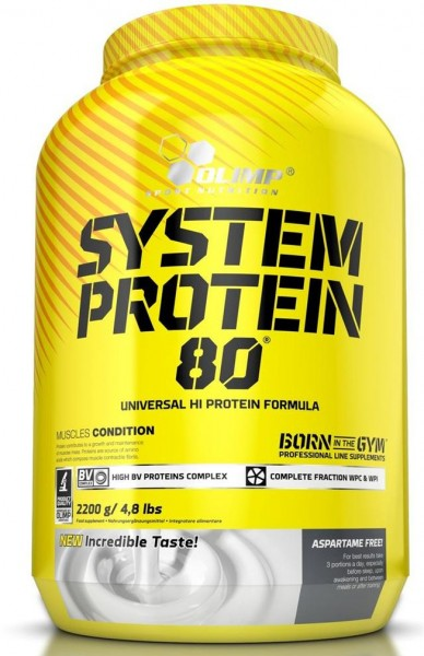 Olimp System Protein 80 - 2,2 Kg-Dose