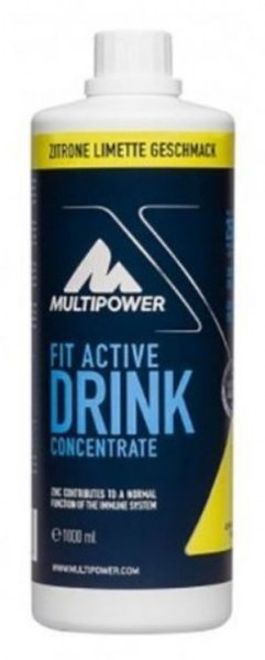 Multipower Fit Active Drink Concentrate 1000 ml