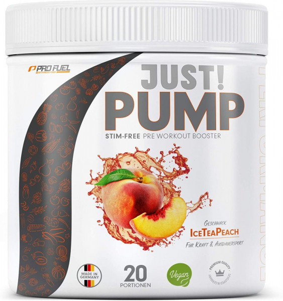 Profuel Just! Pump Pre Workout Booster - 400 g-Dose