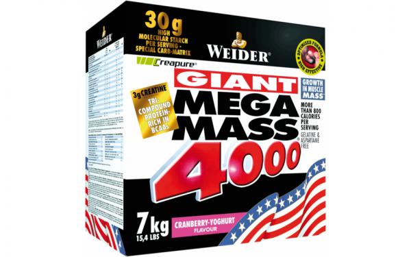 Weider Mega Mass 4000 - 7000g