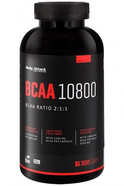 Body Attack BCAA 10800 - 300 Kapseln