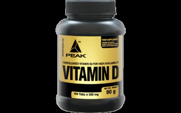 Peak Vitamin D - 180 Kapseln